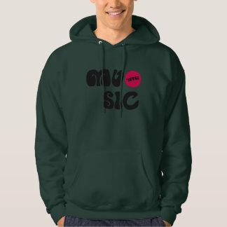 Hoodie Sweater - MUSIC 4EVER Sweats À Capuche