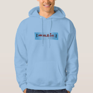 hoodie sweater MUSIC repeat till que Pull Avec Capuche