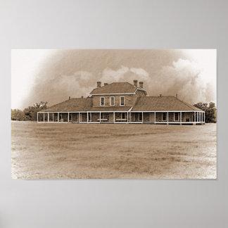 Hôpital à pi Richardson le Texas Poster