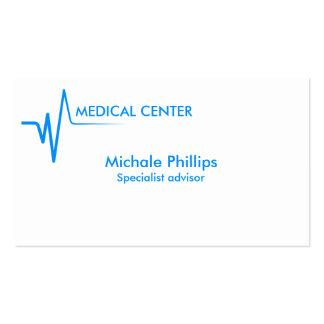 HÔPITAL MÉDICAL CLINIQUE DOCTEUR DENTISTE BLEU CARTE DE VISITE STANDARD