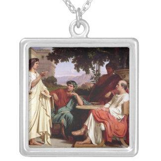 Horace, Virgil et Varius Pendentif Carré