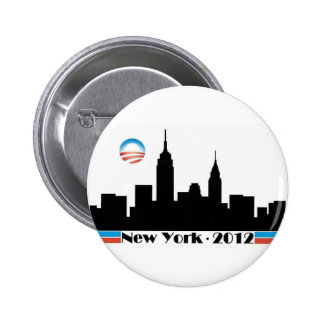 Horizon 2012 d'Obama New York City Badge
