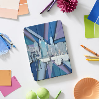 Horizon | 3D bleu de New York City Protection iPad Air