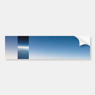 Horizon bleu - adhésif pour pare-chocs frais adhésif pour voiture