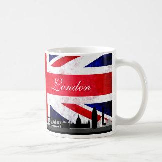 Horizon BRITANNIQUE de ville de drapeau de Londres Mug