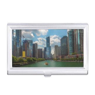 Horizon Chicago Étui Pour Cartes De Visite