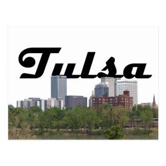 Horizon CORRECT de Tulsa avec Tulsa dans la carte
