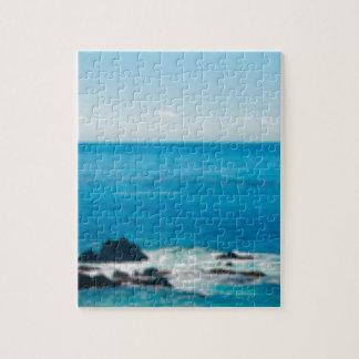 horizon côtier de roche puzzle