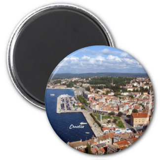 Horizon croate magnet rond 8 cm