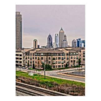Horizon d'Atlanta la Géorgie Cartes Postales