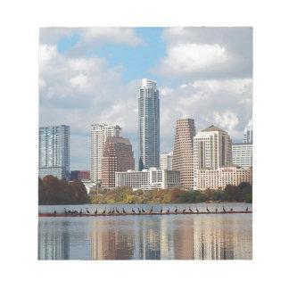 Horizon d'Austin le Texas Bloc-note