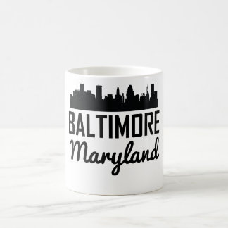 Horizon de Baltimore le Maryland Mug