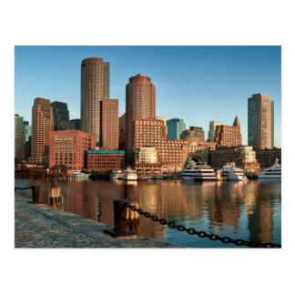 Horizon de Boston Carte Postale