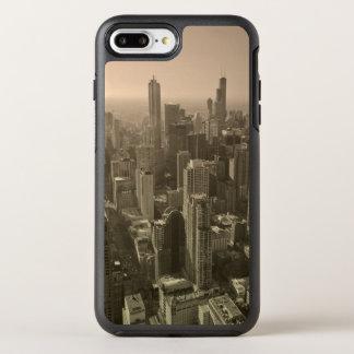 Horizon de Chicago, John Hancock Skydeck central Coque Otterbox Symmetry Pour iPhone 7 Plus