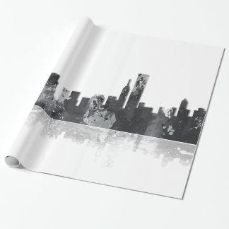 HORIZON de CHICAGO L'ILLINOIS - papier d'emballage Papier Cadeau