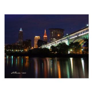 Horizon de Cleveland de carte postale