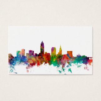 Horizon de Cleveland Ohio Cartes De Visite