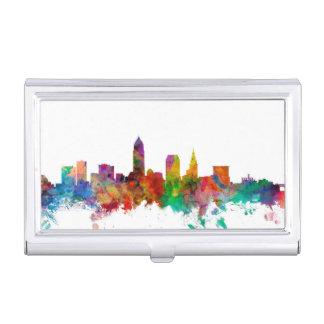 Horizon de Cleveland Ohio Étui Pour Cartes De Visite