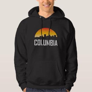 Horizon de coucher du soleil de Colombie la Veste À Capuche