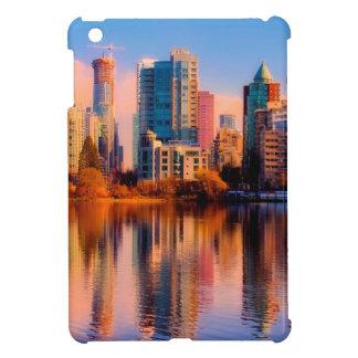 Horizon de coucher du soleil de Vancouver Étuis iPad Mini