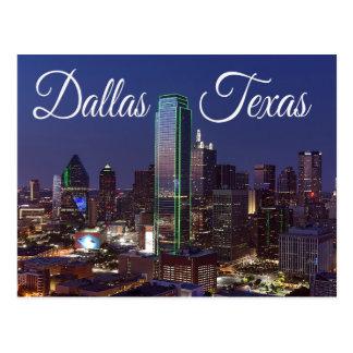 Horizon de Dallas, le Texas, carte postale des