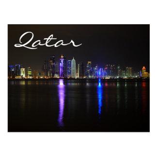 Horizon de Doha, Qatar à la carte postale des