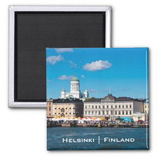 Horizon de Helsinki Magnet Carré