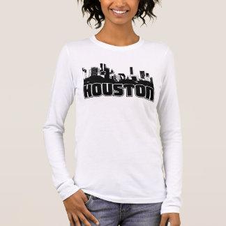 Horizon de Houston T-shirt À Manches Longues