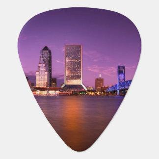 Horizon de Jacksonville la Floride la nuit Médiators