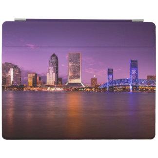 Horizon de Jacksonville la Floride la nuit Protection iPad
