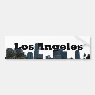 Horizon de Los Angeles avec Los Angeles dans le ci Autocollant Pour Voiture