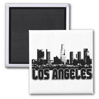 Horizon de Los Angeles Magnet Carré
