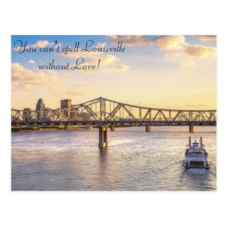 Horizon de Louisville et la carte postale de belle