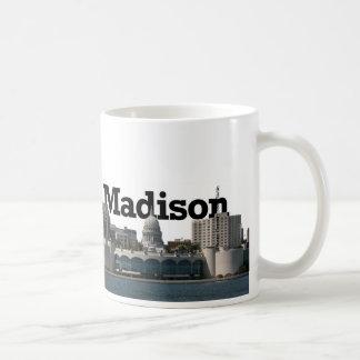 Horizon de Madison le Wisconsin avec Madison dans Mug