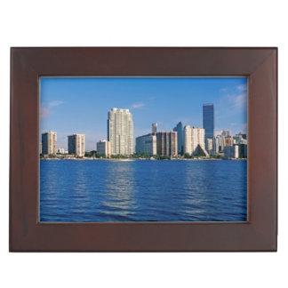 Horizon de Miami, la Floride Boîtes À Souvenirs