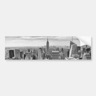 Horizon de New York City Autocollant Pour Voiture