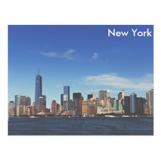 Horizon de New York City Carte Postale