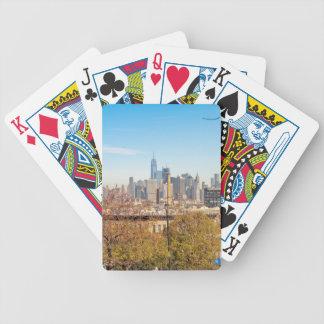 Horizon de New York City Cartes À Jouer