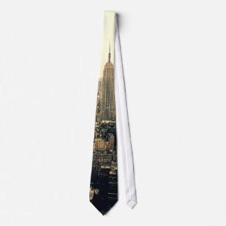Horizon de New York City Cravates