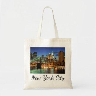 Horizon de New York City, New York, Etats-Unis Sacs