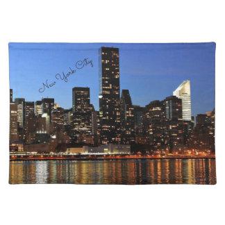 Horizon de New York City Sets De Table