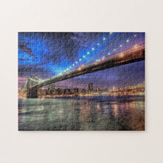 Horizon de New York, puzzle de pont de Brooklyn