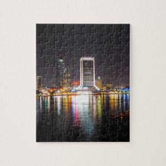 Horizon de nuit de Jacksonville Puzzle