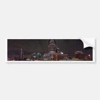 Horizon de nuit de Nashville Autocollant De Voiture