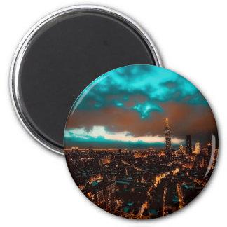 Horizon de nuit de Taïpeh Aimant