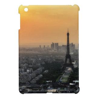 Horizon de Paris pendant le matin Étui iPad Mini