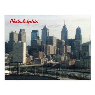 Horizon de Philadelphie Carte Postale