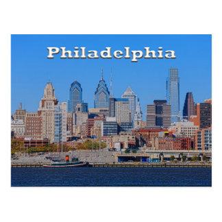 Horizon de Philadelphie, carte postale moyenne de