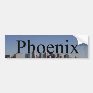 Horizon de Phoenix avec Phoenix dans le ciel Autocollant De Voiture