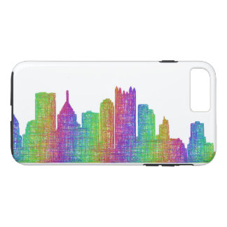 Horizon de Pittsburgh Coque iPhone 7 Plus